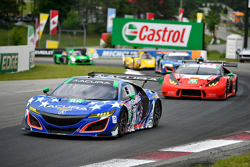 IMSA WeatherTech SportsCar Championship<br /> Mobil 1 SportsCar Grand Prix<br /> Canadian Tire Motorsport Park<br /> Bowmanville, ON CAN<br /> Sunday 9 July 2017<br /> 86, Acura, Acura NSX, GTD, Oswaldo Negri Jr., Jeff Segal<br /> World Copyright: Scott R LePage/LAT Images