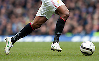 Detail of Antonio Valencia of Manchester United