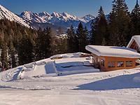 bei der Untermarkter Alm, Hochimst bei Imst, Tirol, Österreich, Europa<br /> alp  Untermarkter Alm, skiing area Hochimst, Imst, Tyrol, Austria, Europe