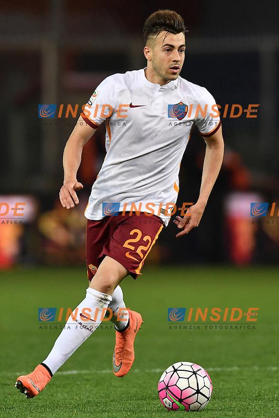 Stephan El Shaarawy Roma  <br /> Genova 02-05-2016 Football Calcio Serie A 2015/2016  Genoa - AS Roma foto Image Sport/Insidefoto