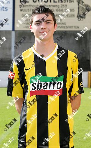 2009-07-23 / Seizoen 2009-2010 / Voetbal / Zwarte Leeuw / Thomas Mertens..Foto: Maarten Straetemans (SMB)