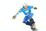 Parallel Slalom event of the FIS Snowboard World Cup on 19/12/2019 in Carezza, Italy.<br />  Maurizio Bormolini (ITA)