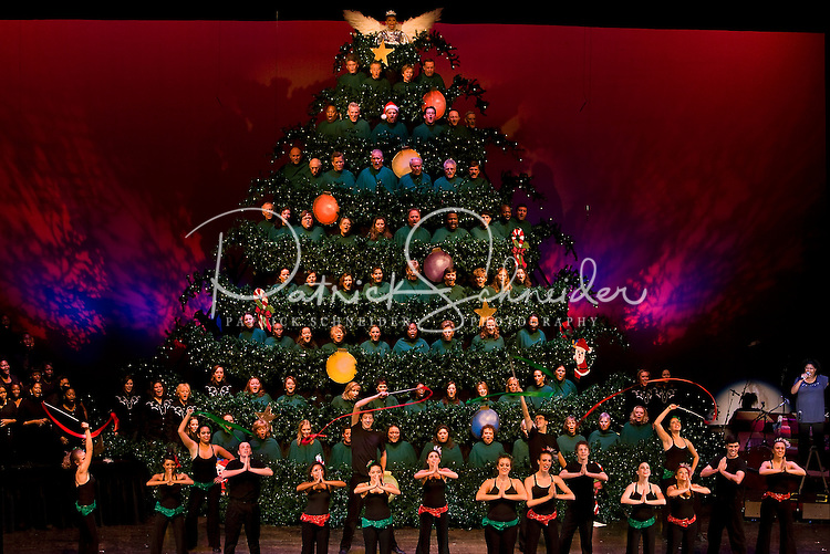 The annual Singing Christmas Tree / MainStage Choir production held at Ovens Auditorium, 2700 East Independence Blvd., Charlotte NC.