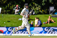 Tom Latham of the Black Caps during the final day of the Second International Cricket Test match, New Zealand V England, Hagley Oval, Christchurch, New Zealand, 3rd April 2018.Copyright photo: John Davidson / www.photosport.nz