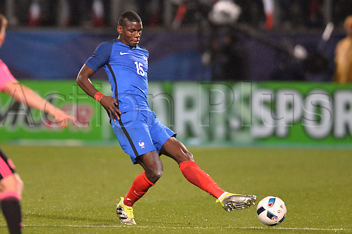 04.06.2016. Stade Saint Symphorien, Metz, France. International football freindly,France versus Scotland.  PAUL POGBA