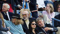 Ralph Lauren, Sean Connery, Alec Baldwin<br /> Tennis - US Open  - Grand Slam -  Flushing Meadows  2013 -  New York - USA - United States of America - Monday 9th  September 2013. <br /> &copy; AMN Images, 8 Cedar Court, Somerset Road, London, SW19 5HU<br /> Tel - +44 7843383012<br /> mfrey@advantagemedianet.com<br /> www.amnimages.photoshelter.com<br /> www.advantagemedianet.com<br /> www.tennishead.net