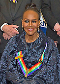 Actress and Broadway star Cicely Tyson, one of the five recipients of the 38th Annual Kennedy Center Honors, poses as part of a group photo following a dinner hosted by United States Secretary of State John F. Kerry in their honor at the U.S. Department of State in Washington, D.C. on Saturday, December 5, 2015.  The 2015 honorees are: singer-songwriter Carole King, filmmaker George Lucas, actress and singer Rita Moreno, conductor Seiji Ozawa, and actress and Broadway star Cicely Tyson.<br /> Credit: Ron Sachs / Pool via CNP