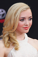 """HOLLYWOOD, LOS ANGELES, CA, USA - MARCH 11: Peyton List at the World Premiere Of Disney's """"Muppets Most Wanted"""" held at the El Capitan Theatre on March 11, 2014 in Hollywood, Los Angeles, California, United States. (Photo by Xavier Collin/Celebrity Monitor)"""