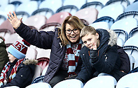 Burnley fans enjoy pre-match atmosphere<br /> <br /> Photographer Rich Linley/CameraSport<br /> <br /> Emirates FA Cup Third Round - Burnley v Barnsley - Saturday 5th January 2019 - Turf Moor - Burnley<br />  <br /> World Copyright &copy; 2019 CameraSport. All rights reserved. 43 Linden Ave. Countesthorpe. Leicester. England. LE8 5PG - Tel: +44 (0) 116 277 4147 - admin@camerasport.com - www.camerasport.com