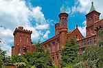 Smithsonian Institution, Smithsonian Castle, National Mall, Washington DC