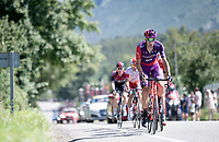 breakaway group<br /> <br /> Stage 14: San Vicente de la Barquer to Oviedo (188km)<br /> La Vuelta 2019<br /> <br /> ©kramon