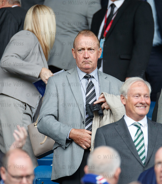 01.09.2019 Rangers v Celtic: Willie Young