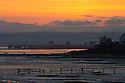 27/05/15<br /> <br /> Seen from the Northam Burrows, the sun rises over the estuary above the Old Coastguards House in Appledore, North Devon.<br /> <br /> All Rights Reserved - F Stop Press.  www.fstoppress.com. Tel: +44 (0)1335 418629 +44(0)7765 242650
