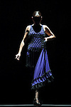 Flamenco dancer Sara Baras dances during her performance `La Pepa´ in Madrid, Spain. October 14, 2014. (ALTERPHOTOS/Victor Blanco)