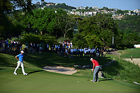 Jon Rahm (ESP) putts on 17 during round 7 of the World Golf Championships, Dell Technologies Match Play, Austin Country Club, Austin, Texas, USA. 3/26/2017.<br /> Picture: Golffile | Ken Murray<br /> <br /> <br /> All photo usage must carry mandatory copyright credit (&copy; Golffile | Ken Murray)