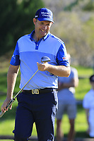 Padraig Harrington (IRL) putts on the 17th green during Thursday's Round 1 of the 2018 Turkish Airlines Open hosted by Regnum Carya Golf &amp; Spa Resort, Antalya, Turkey. 1st November 2018.<br /> Picture: Eoin Clarke | Golffile<br /> <br /> <br /> All photos usage must carry mandatory copyright credit (&copy; Golffile | Eoin Clarke)