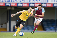 Stephen Humphrys, Southend United, shrugs off the attention of Conor Coventry, West Ham U21's during Southend United vs West Ham United Under-21, EFL Trophy Football at Roots Hall on 8th September 2020