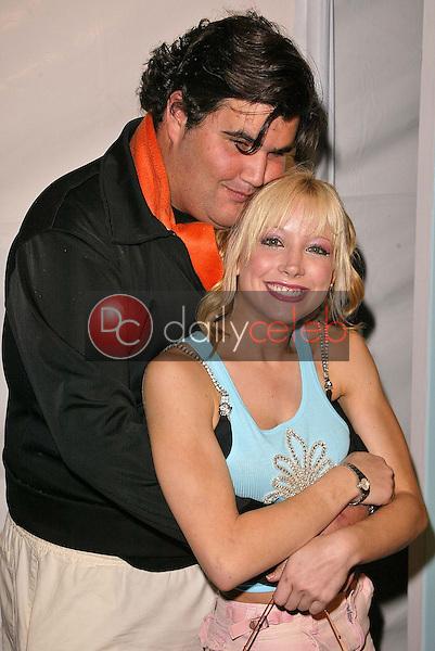 Jason Davis and Courtney Peldon