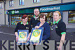 Winner of the Silver Award for Gala Store of the Year Awards. Pictured Norma Lynch, Liz Drew (Manager), Adam O'Hanlon, Marie Guerin