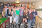 Kenneth Rogan, Keel, Castlemaine, pictured with family and friends as he celebrated his 18th birthday in Sheila Neills bar, Killorglin on Saturday night...