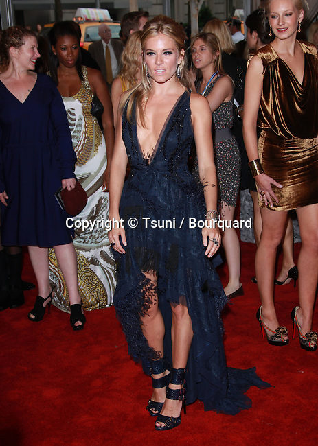 Sienna Miller _77   -<br /> 2010 Metropolitan Museum of Art Costume Institute Benefit &quot;American Woman: Fashioning a National Identity at the Metropolitan Museum of Art Costume Institute in New York.