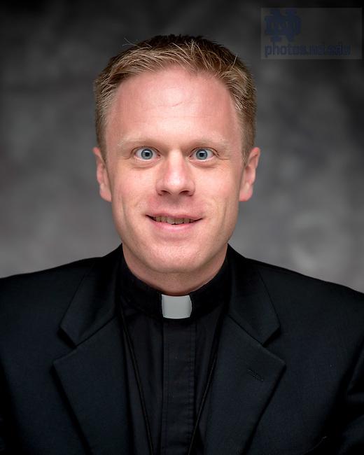 Oct. 13, 2015; Rev. Kevin Grove, C.S.C., NDIAS 2015-16. (Photo by Matt Cashore/University of Notre Dame)