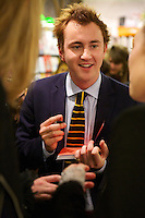 Francis Boulle signs his book Boulle's Jewels