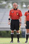 06 September 2015: Assistant Referee Karl Kummer. The University of North Carolina Tar Heels played the University of Southern California Trojans at Koskinen Stadium in Durham, NC in a 2015 NCAA Division I Women's Soccer match. UNC won the game 2-1.