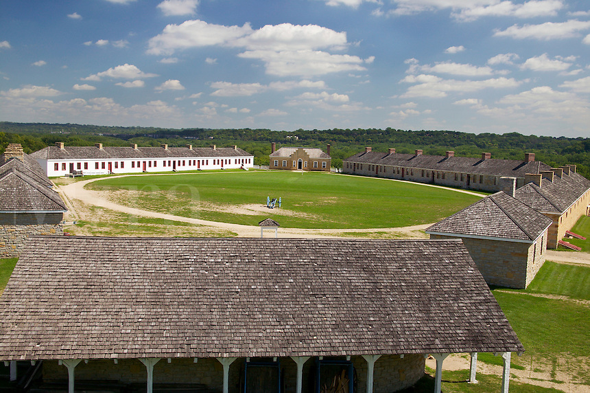 View from Round Tower, Fort Snelling Historic Site, Hennepin County, Minnesota
