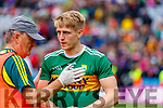 Killian Spillane, Kerry celebrates after the All Ireland Senior Football Semi Final between Kerry and Tyrone at Croke Park, Dublin on Sunday.