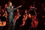 Argentine singer Guillermo Fernandez during concert of Festival Unicos. September 25, 2019. (ALTERPHOTOS/Johana Hernandez)