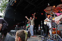 Das Pack at Open Flair Festival 2011 in Eschwege. Photo by Ruediger Knuth.