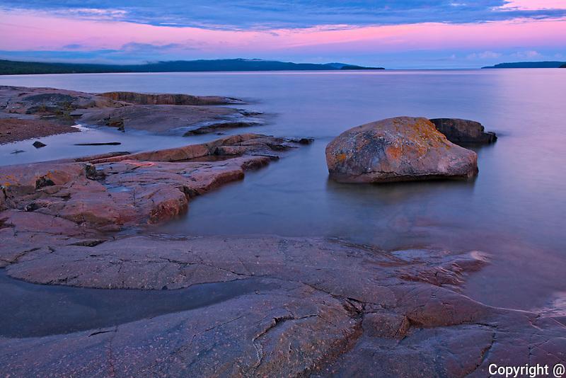 Dawn on Lake Superior<br />Rossport<br />Ontario<br />Canada