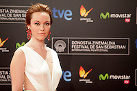 "Actress Olimpia Melinte posses in the photocall of the ""Canibal"" film presentation during the 61 San Sebastian Film Festival, in San Sebastian, Spain. September 23, 2013. (ALTERPHOTOS/Victor Blanco) /NortePhoto"