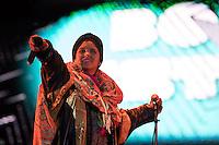CIUDAD DE MEXICO, D.F. 13  Marzo.-  El grupo Bomba Estereo durante el festival Vive Latino 2015 en el Foro Sol de la Ciudad de México. el 13 de Marzo de 2015.  FOTO: ALEJANDRO MELENDEZ