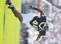01 September 2007:  DE Maurice Evans (48)..The Penn State Nittany Lions defeated the Florida International Golden Panthers 59-0 September 1, 2007 at Beaver Stadium in State College, PA..