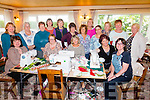 Taking part in 'The Sewing Shed' weekend sewing retreat in San Antoine, Cahersiveen were front l-r; Joanne O'Carroll, Cathy McCarthy, Patricia Dunne, Julie Shanahan, Elma Shine, back l-r; Sarah Noonan(The Sewing Shed), Theresa Riardon, Irene McCarthy, Mary Ellis, Pauline Lucas, Nikki Foley(The Sewing Shed), Jan Murry, Maura Fitzgerald, Helen Martin, Margaret Mooloney, Ann Landers & Cathy O'Gorman.