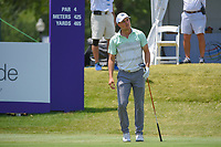Jordan Spieth (USA) watches his tee shot on 10 during round 4 of the WGC FedEx St. Jude Invitational, TPC Southwind, Memphis, Tennessee, USA. 7/28/2019.<br /> Picture Ken Murray / Golffile.ie<br /> <br /> All photo usage must carry mandatory copyright credit (© Golffile | Ken Murray)