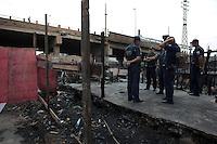 SAO PAULO, SP 19/09/2012 - FAVELA DO MOINHO- Favela do Moinho, no Centro de S&atilde;o Paulo. Na foto guardas civis metropolitanos no interior da favela<br /> FOTO VAGNER CAMPOS/ BRAZIL PHOTO PRESS