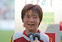 Shinobu Ono (Leonessa), JULY 24, 2011 - Football / Soccer : 2011 Plenus Nadeshiko LEAGUE 1st Sec match between INAC Kobe Leonessa 2-0 JEF United Ichihara-Chiba Ladies at Home's Stadium Kobe in Hyogo, Japan. (Photo by Akihiro Sugimoto/AFLO SPORT) [1080]