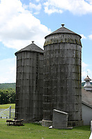 Storage silo at Shaker Village in Hancock Massachusetts.