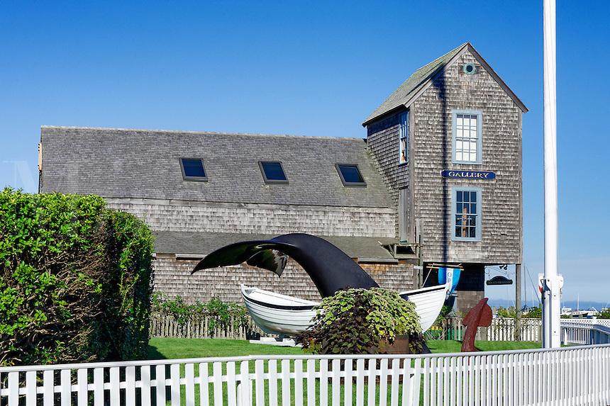 Old Sculpin Gallery, Edgartown, Martha's Vineyard, Massachusetts, USA