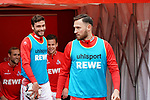12.05.2019, RheinEnergieStadion, Koeln, GER, 2. FBL, 1.FC Koeln vs. SSV Jahn Regensburg,<br />  <br /> DFL regulations prohibit any use of photographs as image sequences and/or quasi-video<br /> <br /> im Bild / picture shows: <br /> Marco H&ouml;ger / Hoeger (FC Koeln #6),  Jonas Hector (FC Koeln #14),  <br /> <br /> Foto &copy; nordphoto / Meuter