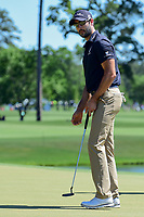 Cameron Tringale (USA) reacts to his putt on 12 during round 2 of the Shell Houston Open, Golf Club of Houston, Houston, Texas, USA. 3/31/2017.<br /> Picture: Golffile | Ken Murray<br /> <br /> <br /> All photo usage must carry mandatory copyright credit (&copy; Golffile | Ken Murray)