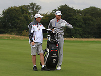 Jens Dantorp (SWE) on the 2nd fairway during Round 1 of the Bridgestone Challenge 2017 at the Luton Hoo Hotel Golf &amp; Spa, Luton, Bedfordshire, England. 07/09/2017<br /> Picture: Golffile   Thos Caffrey<br /> <br /> <br /> All photo usage must carry mandatory copyright credit     (&copy; Golffile   Thos Caffrey)