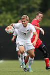 30 August 2015: Elon's Samuel McBride. The Elon University Phoenix played the Saint Mary's College Gaels at Koskinen Stadium in Durham, NC in a 2015 NCAA Division I Men's Soccer match. Elon won the game 1-0.