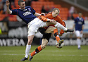 23/02/2008    Copyright Pic: James Stewart.File Name : sct_jspa12_dundeee_utd_v_falkirk.THOMAS SCOBBIE AND WILLO FLOOD CHALLENGE FOR THE BALL.James Stewart Photo Agency 19 Carronlea Drive, Falkirk. FK2 8DN      Vat Reg No. 607 6932 25.Studio      : +44 (0)1324 611191 .Mobile      : +44 (0)7721 416997.E-mail  :  jim@jspa.co.uk.If you require further information then contact Jim Stewart on any of the numbers above........