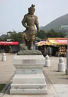 The Twelve Divine Generals - The General Kimnara - at Ngong Ping Village, Lantau Island, Hong Kong, China