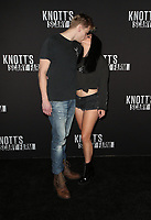 BUENA PARK, CA - SEPTEMBER 29: Levi Meaden, Ariel Winter, at Knott's Scary Farm & Instagram's Celebrity Night at Knott's Berry Farm in Buena Park, California on September 29, 2017. Credit: Faye Sadou/MediaPunch