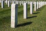 Tombstone diagonal view